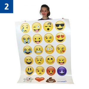 23 Small Emoji's £58