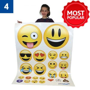 23 Mixed Emoji's £58
