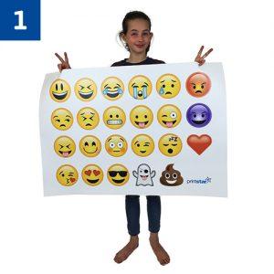 23 Mini Emoji's £38