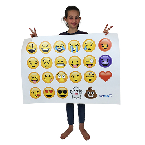 Emoji Wall Art | Online Print Shop | Print Star : Emoji Wall Art Ideas For Kids