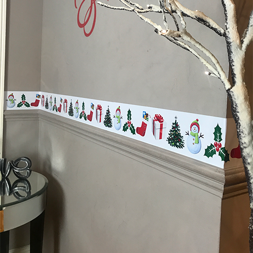 Chrismas Border Trims Wall Art