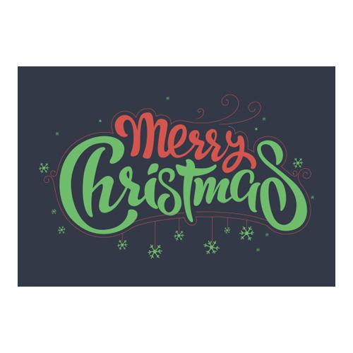 Merry Christmas Wall Art