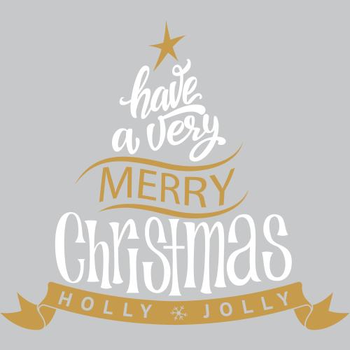 Merry Christmas Holly Jolly Tree
