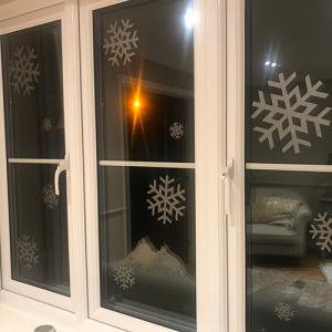 Window Snowflakes Wall Art