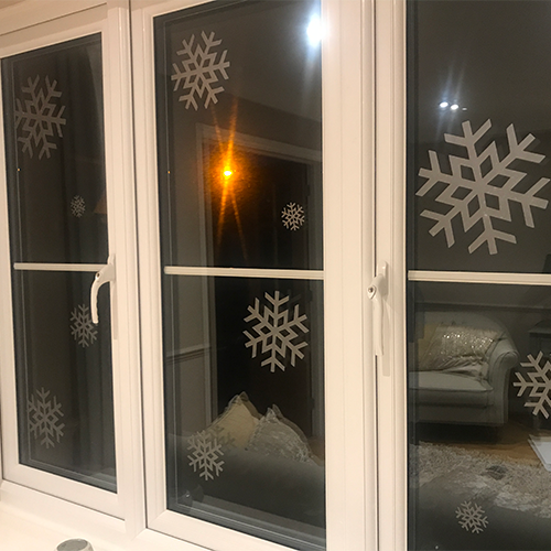 Window Snowflakes Wall Art